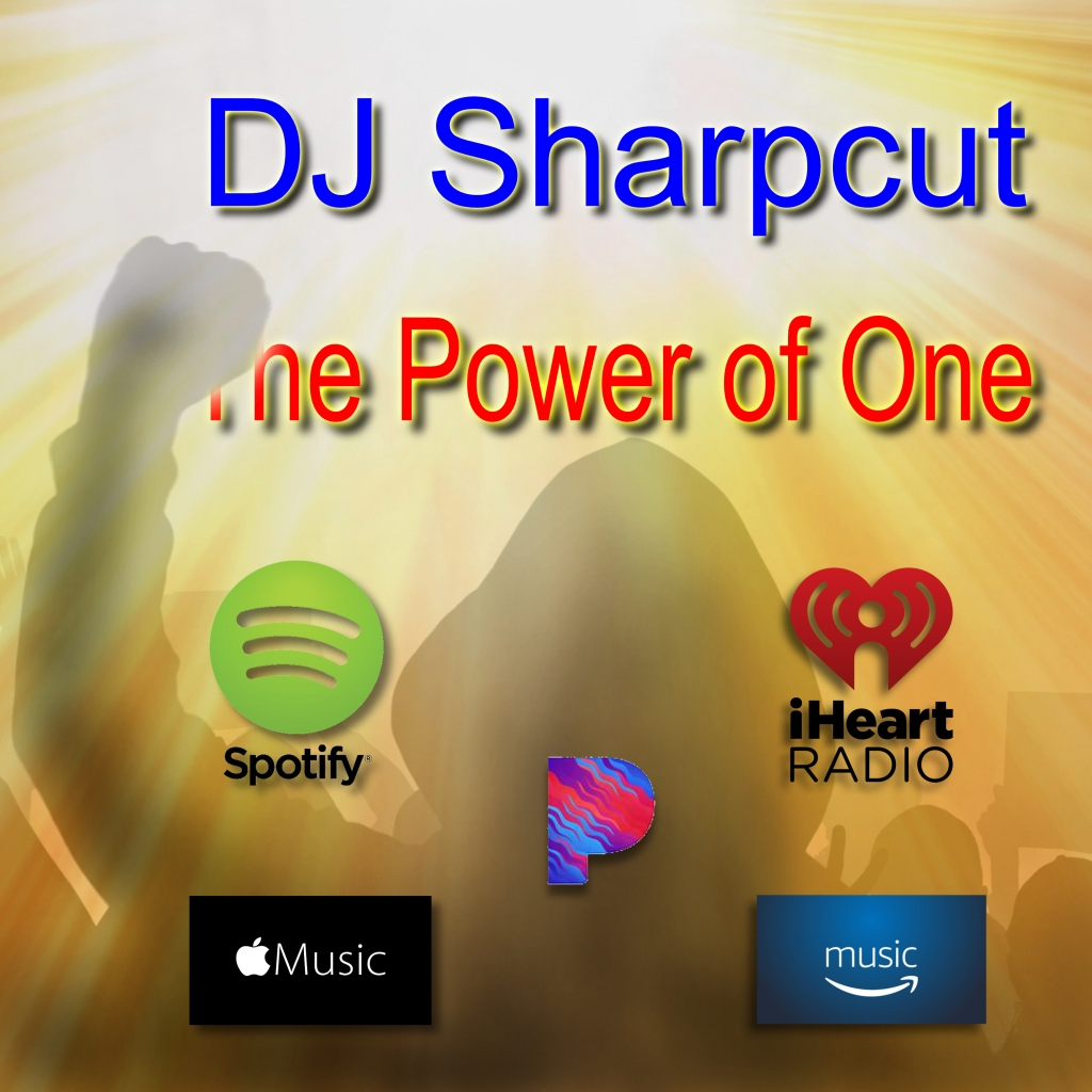 This image has an empty alt attribute; its file name is dj-sharpcut-the-power-of-one-cover-with-streaming-b.jpg